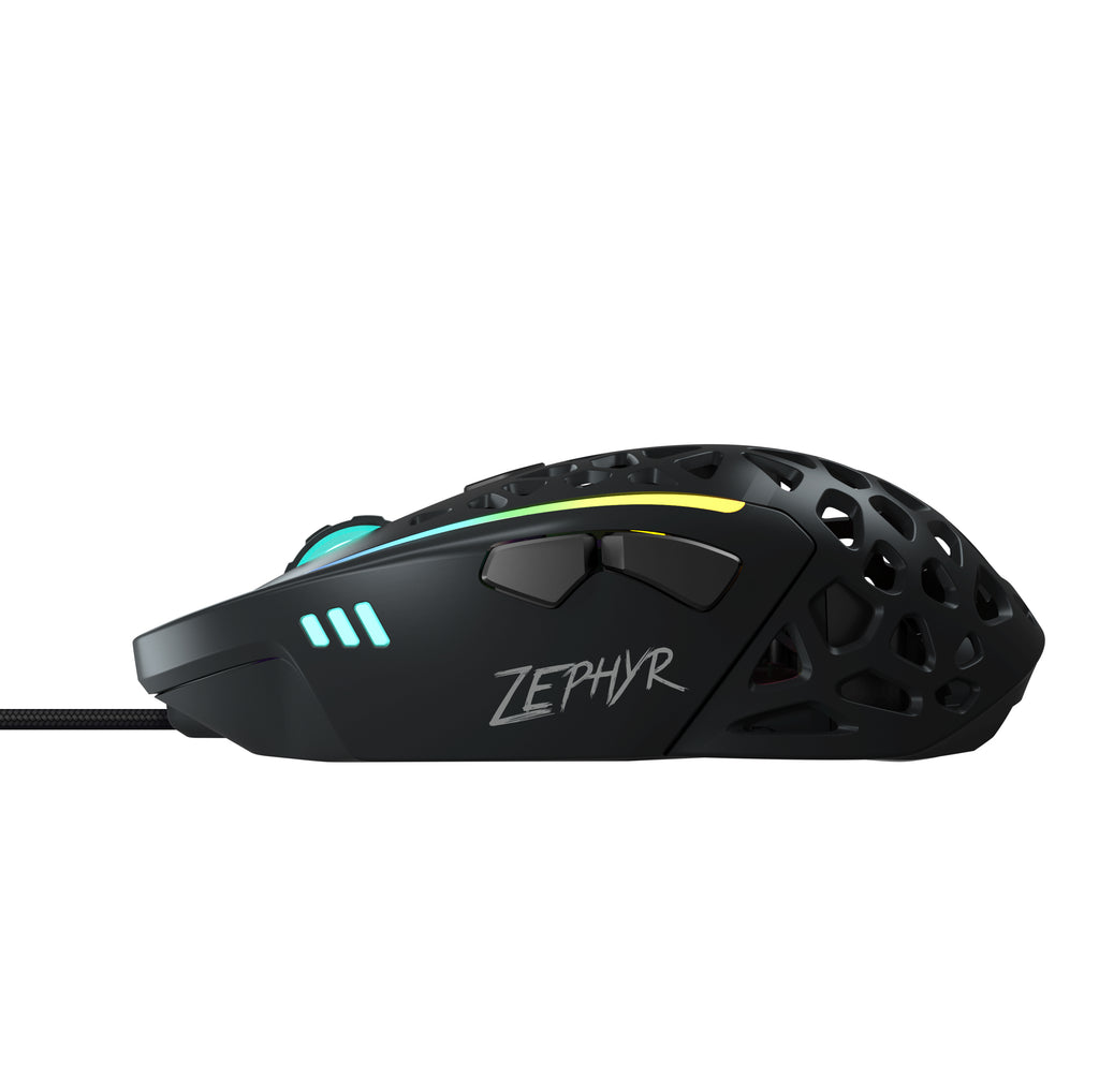 Zephyr Gaming Mouse: built-in fan so no more sweaty palms
