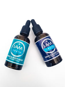 I Am Truth Mind & Body Hemp Oil 50ml