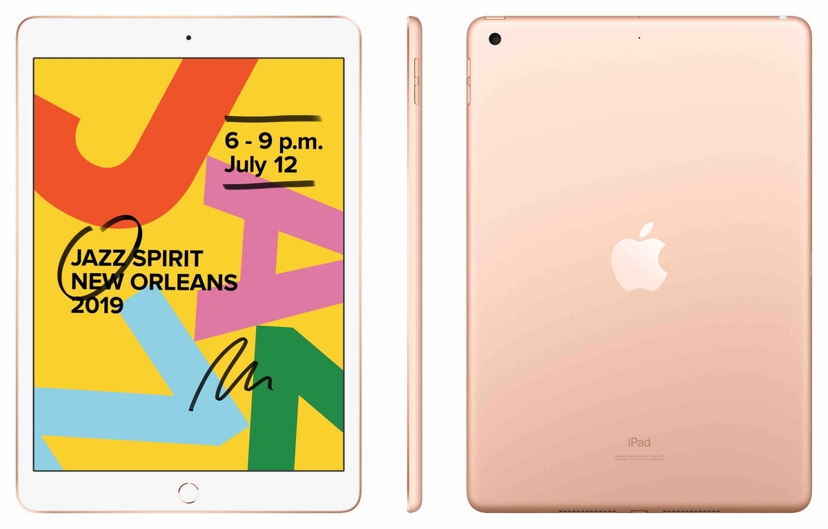 "10.2"" iPad Wi-Fi 128GB - Gold"