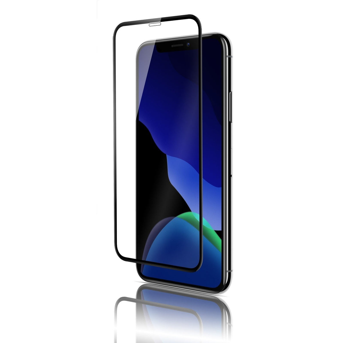 QDOS OptiGuard Glass Curve Black for iPhone 11 Pro Max / Xs Max
