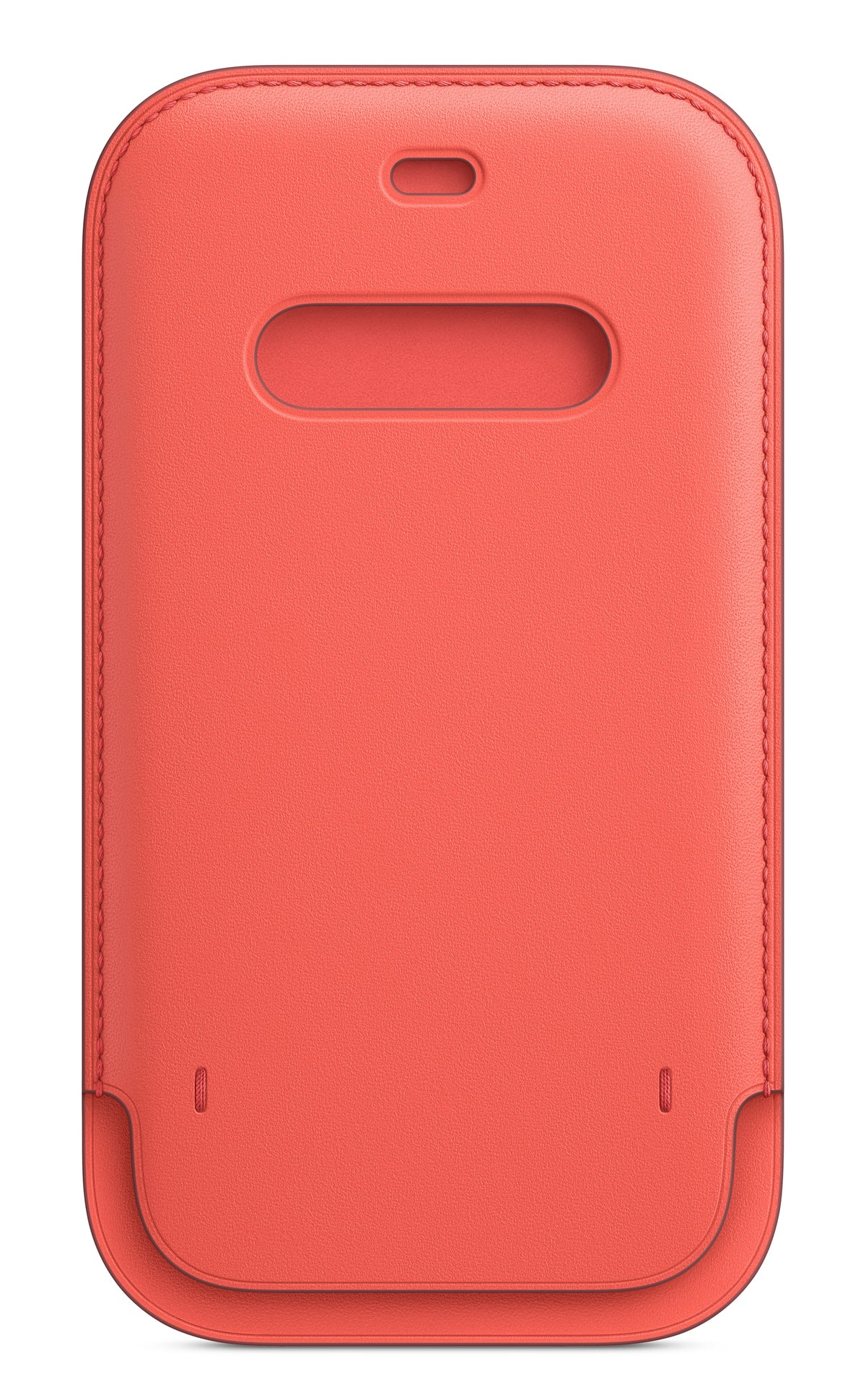 iPhone 12 Pro Max Leather Sleeve with MagSafe - Pink Citrus