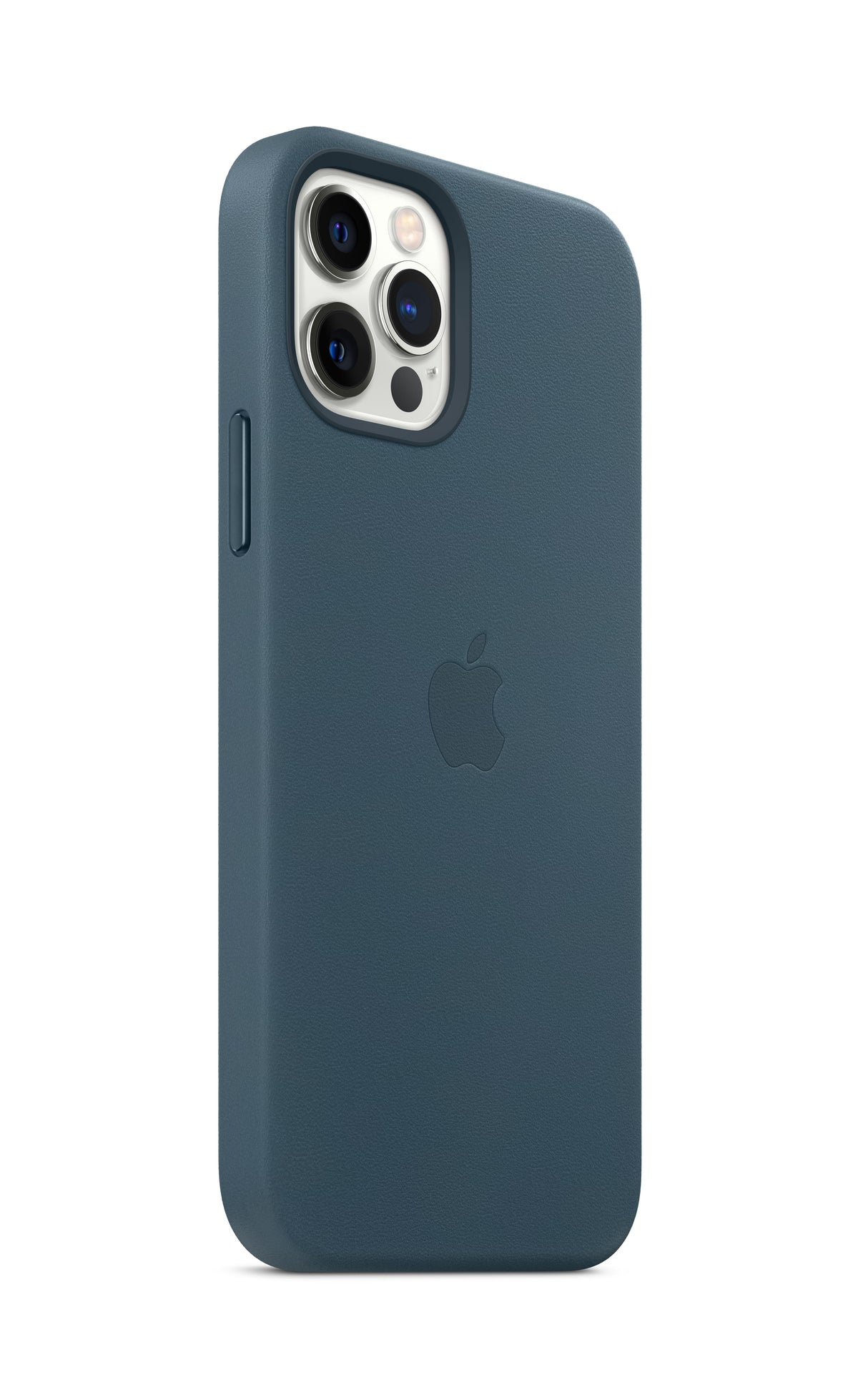 iPhone 12 Pro Leather Case with MagSafe - Baltic Blue