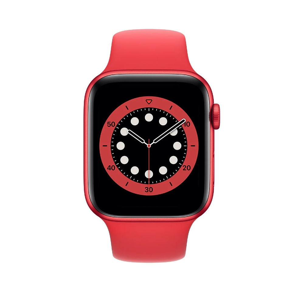 Apple Watch Series 6 44mm PRODUCT(RED) Aluminium Case with PRODUCT(RED) Sport Band - Regular