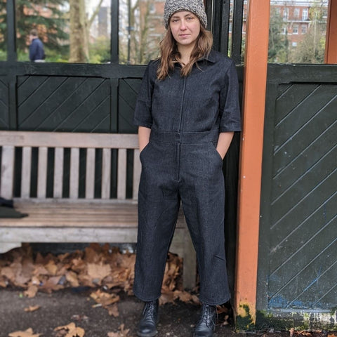 Lennox jumpsuit in denim