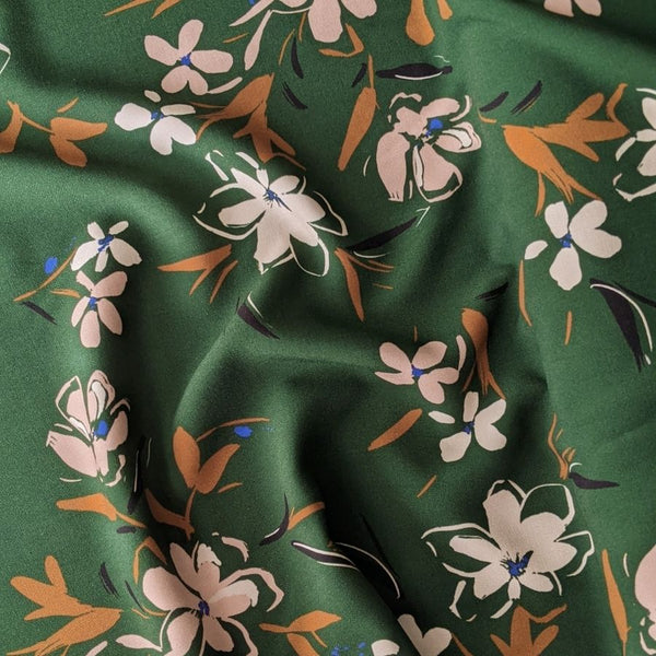 Atelier Jupe Forest Green print