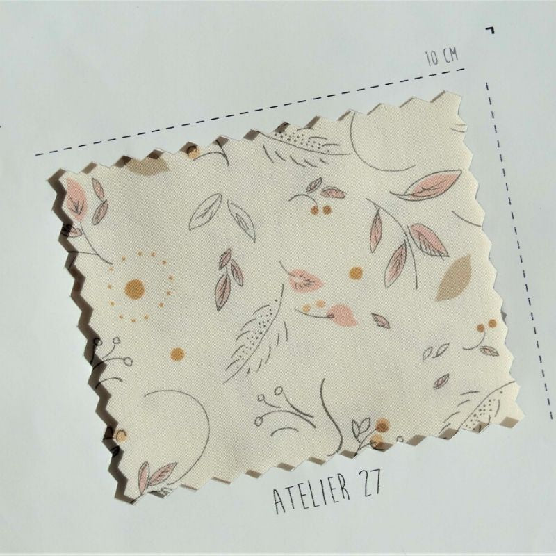 Atelier 27 Satin Cotton Claira Ivory swatch