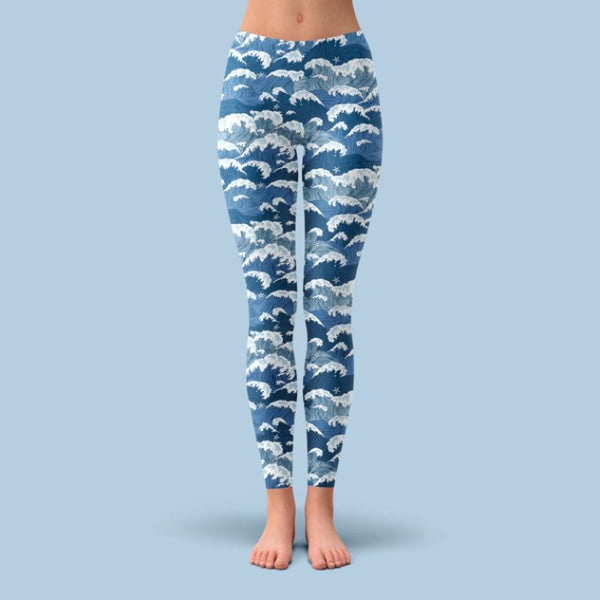 Fossan Design Legging Waves Day