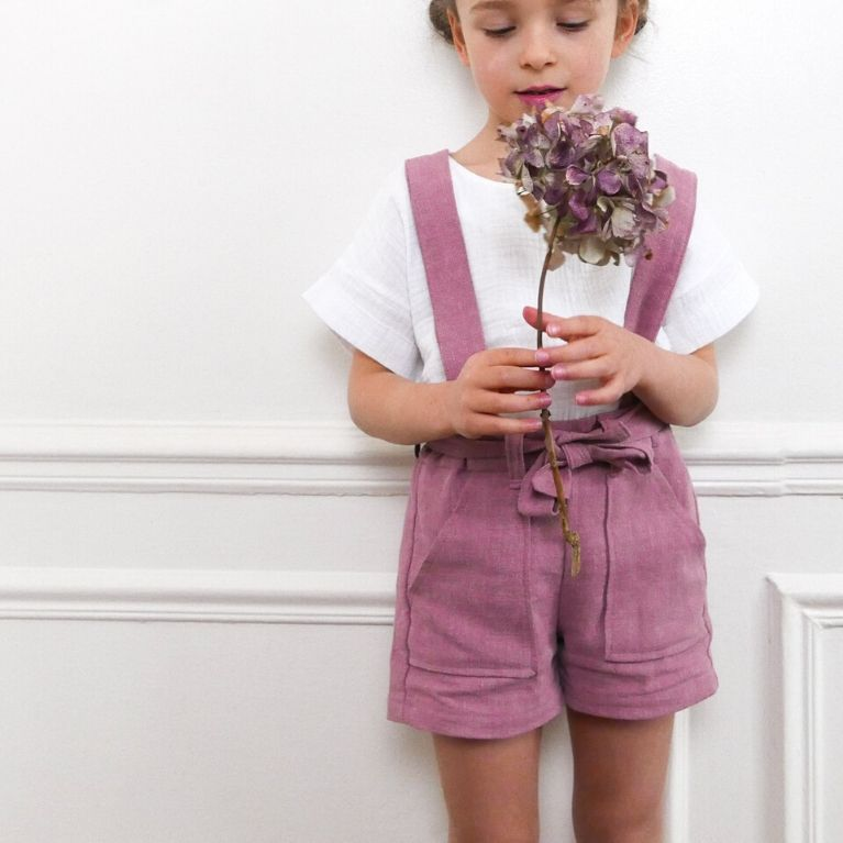 Ikatee Sewing Pattern Avana Front with flowers