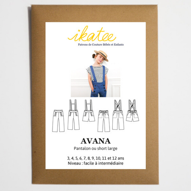 Ikatee Sewing Pattern Avana cover view