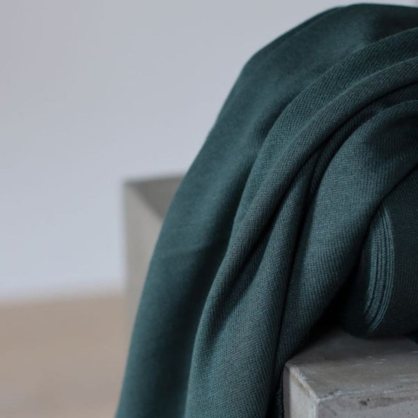 Meet Milk Ecovero Knit in Deep Green