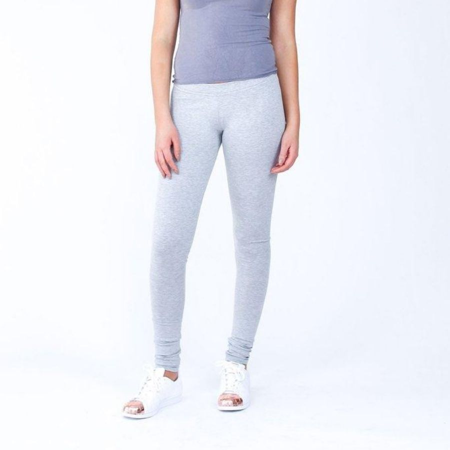 Megan Nielsen Virginia leggings front view