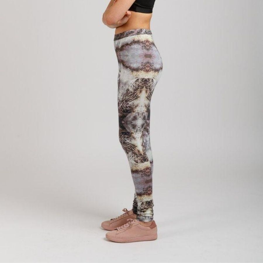 Megan Nielsen Virginia leggings in lycra side view