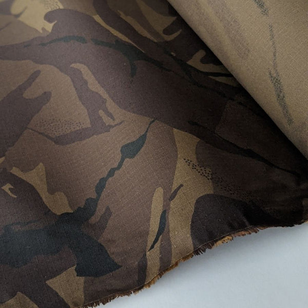 Merchant and Mills Camo Dry Oilskin