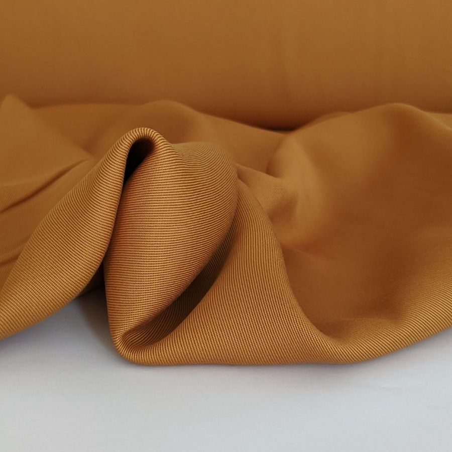 Sanded Tencel Twill in Golden Tan second view