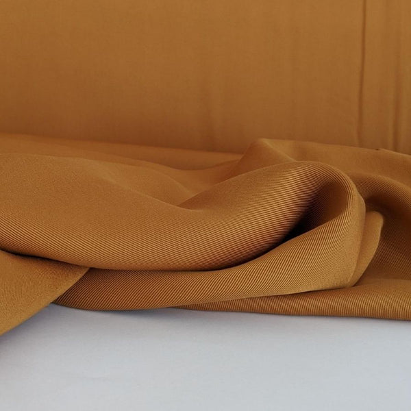 Sanded Tencel Twill in Golden Tan first view