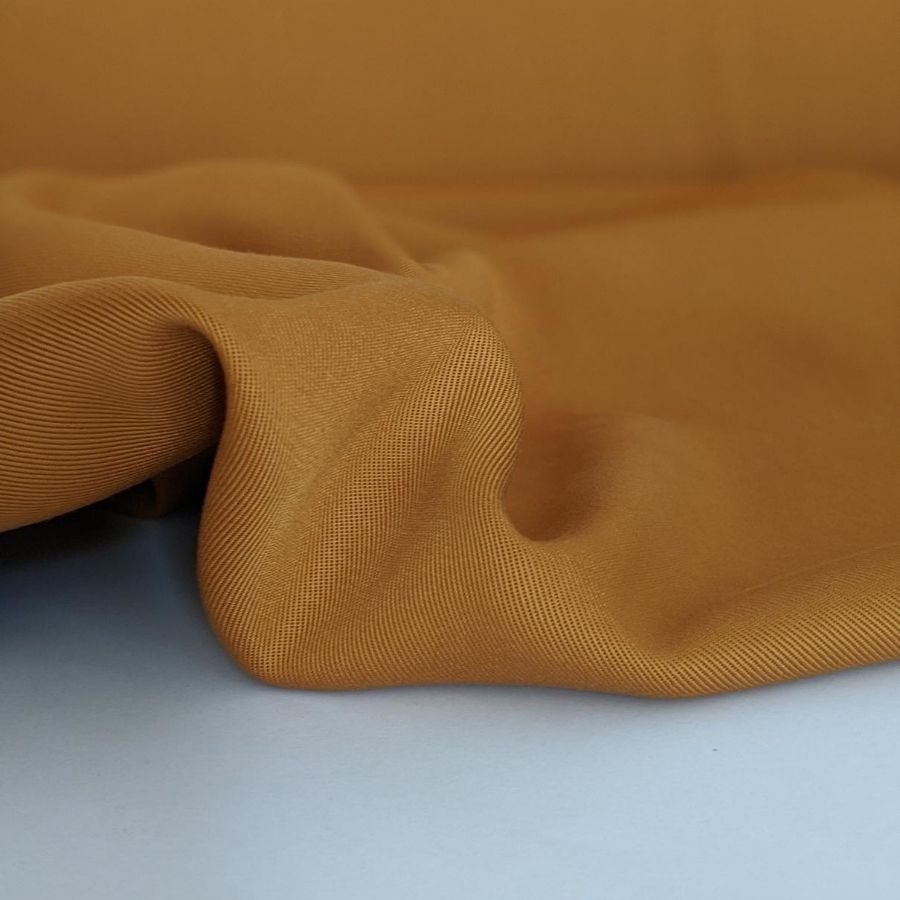 Sanded Tencel Twill in Golden Tan fifth view