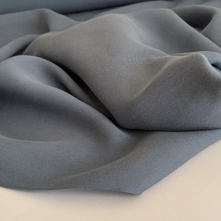 Sanded Tencel Twill in Faded Blue third view