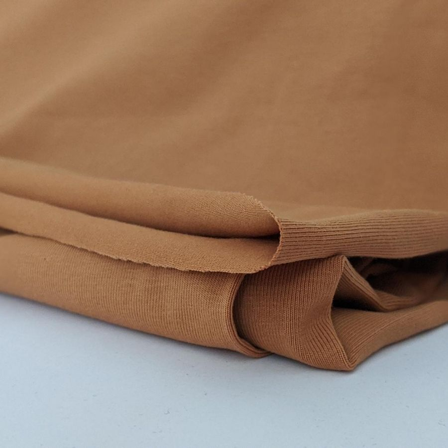 Stof Fabric Avalana Jersey in Camel