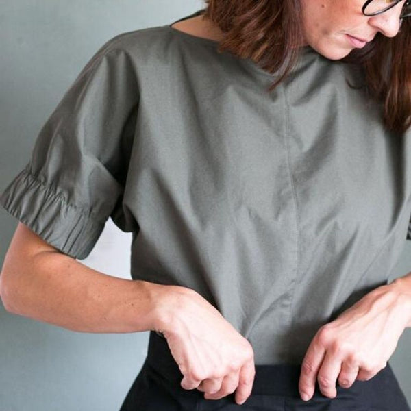 The Assembly Line Cuff Top pattern