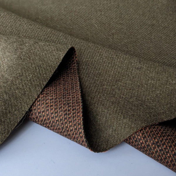 Suiting fabric in cedar