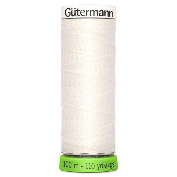 Guterman rPET thread in white