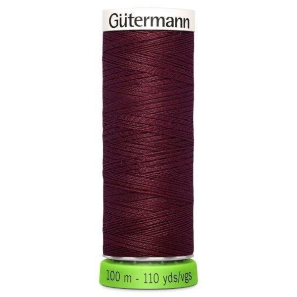 Guterman rPET thread in burgundy