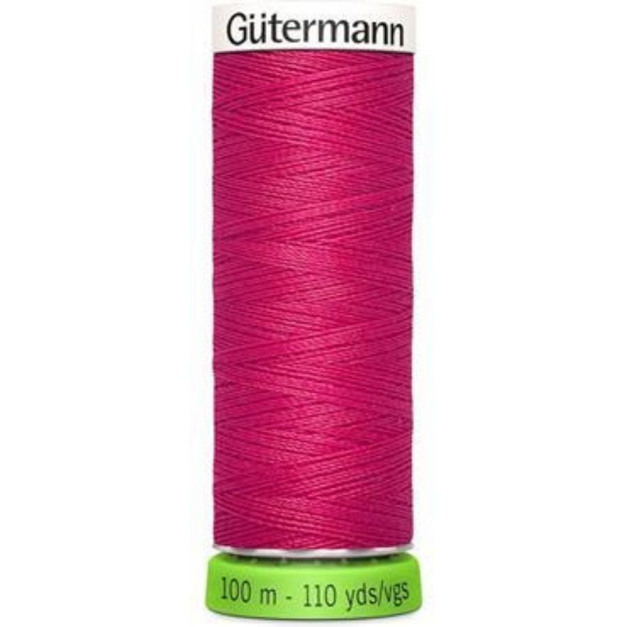 Guterman rPET thread in cerise
