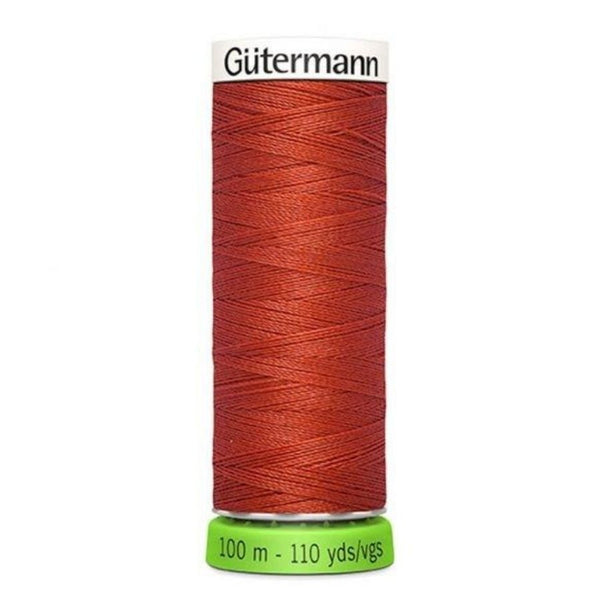 Guterman rPET thread in burnt orange