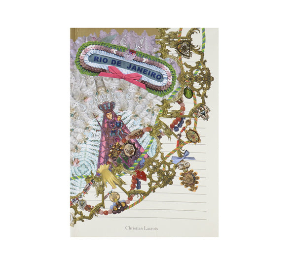 Christian Lacroix - Rio Soft Notebook - Wynwood Letterpress  - 3