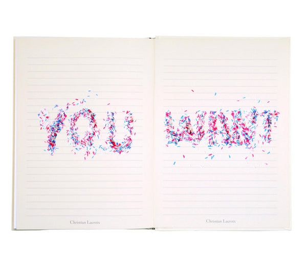 Christian Lacroix - Love Who You Want Journal - Wynwood Letterpress  - 7