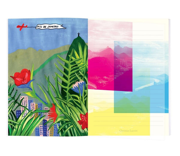 Christian Lacroix - Rio Soft Notebook - Wynwood Letterpress  - 5