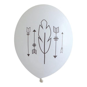 Arrows and Feathers Balloons - Wynwood Letterpress