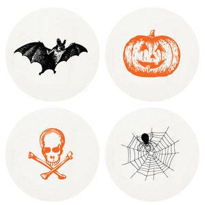 Halloween Boxed Letterpress Coasters - Wynwood Letterpress