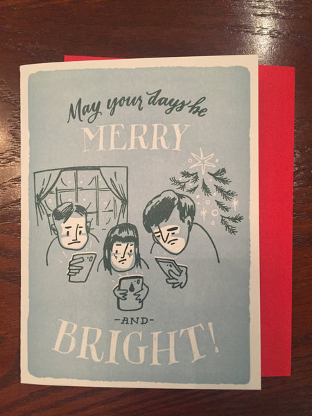 Phone Merry & Bright Boxed Set - Wynwood Letterpress