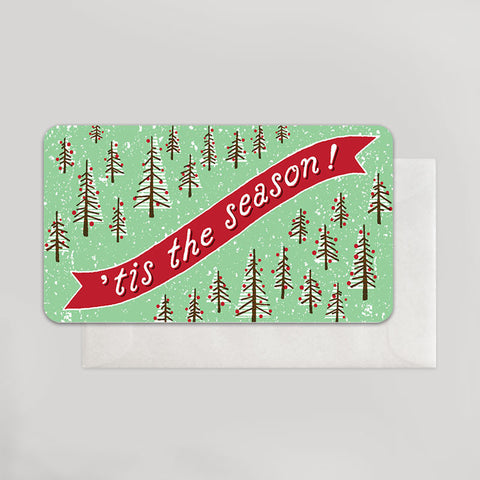 'Tis the Season Tiny Trees Enclosure - Wynwood Letterpress