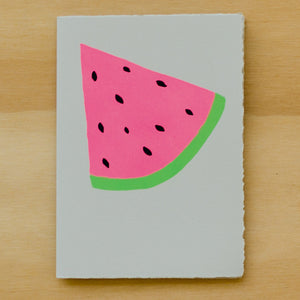 Watermelon Card - Wynwood Letterpress