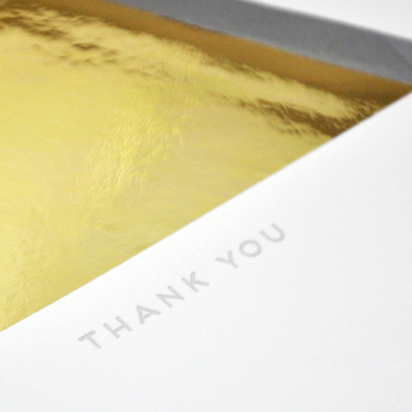Thank You Cards Gravel Boxed Set - Wynwood Letterpress  - 1