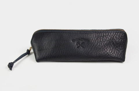 Leather Pen/Pencil Case (L) - Wynwood Letterpress  - 1