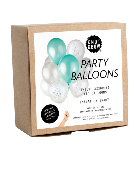 Mermaid Mix Party Balloons - Wynwood Letterpress  - 2