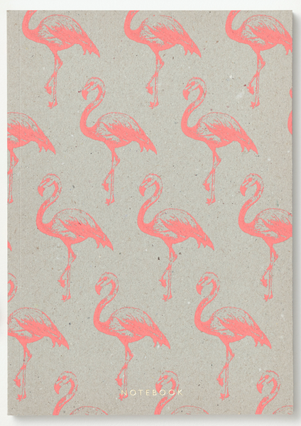 Flamingo Exercise Book - Wynwood Letterpress