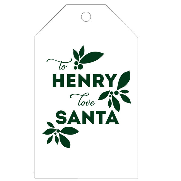 Personalized Letterpress Gift Tags - T37 - Wynwood Letterpress  - 3