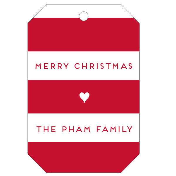 Personalized Letterpress Gift Tags - T47 - Wynwood Letterpress  - 1
