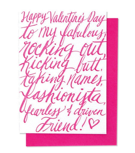 Valentine's Girlfriend - Wynwood Letterpress
