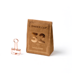 Rose Gold Binder Clip - Wynwood Letterpress  - 2