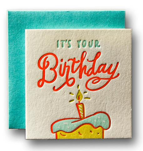 Tiny Birthday Card - Wynwood Letterpress