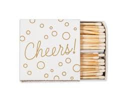 Cheers Matches - Wynwood Letterpress