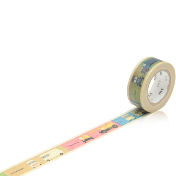Kids Vehicle Masking Tape - Wynwood Letterpress