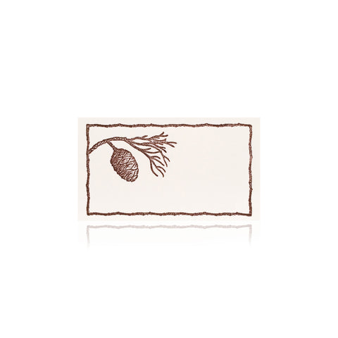 Pine Bough Place Cards - Wynwood Letterpress