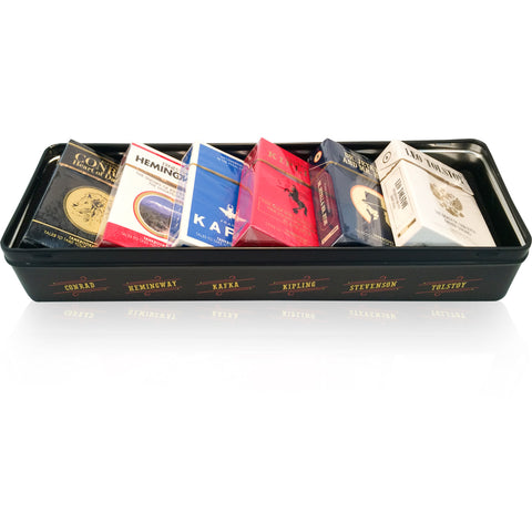 Cigarette Box Books Metal Gift Box Gift Set - Wynwood Letterpress  - 1