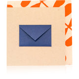 Navy Gift Enclosure Card - Wynwood Letterpress  - 1